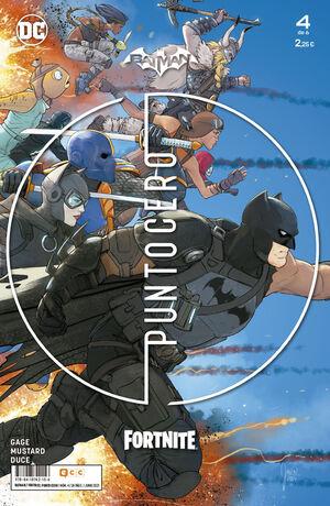 BATMAN;FORTNITE: PUNTO CERO NÚM. 04 DE 6