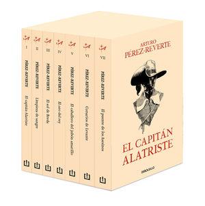 EL CAPITAN ALATRISTE.ESTUCHE.DEB